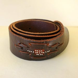 AE dark brown belt
